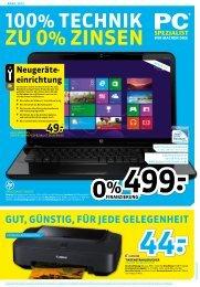 Flyer April 2013 - PC Spezialist Moers