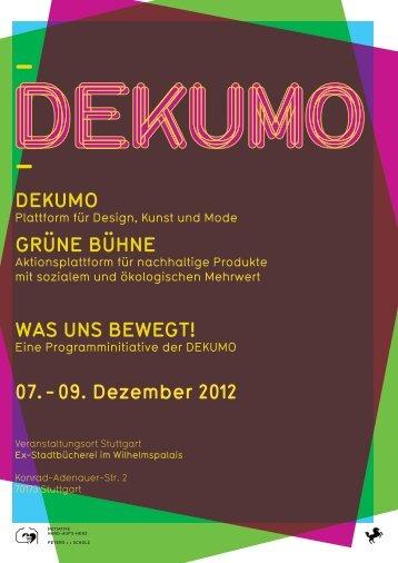 07. - 09. Dezember 2012 - Dekumo