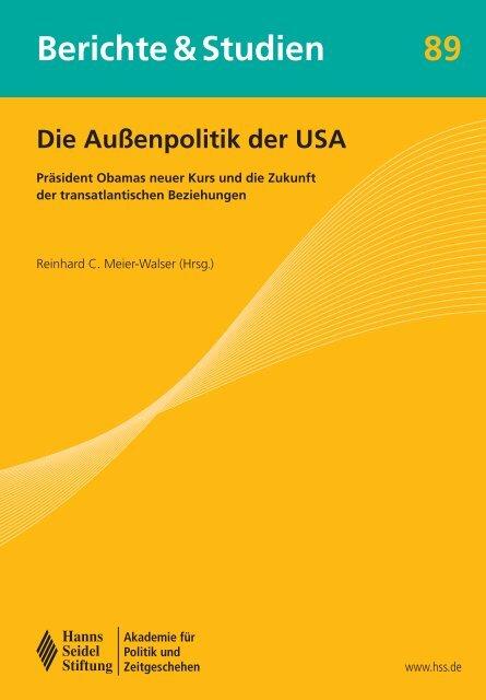 Berichte und Studien - am Institut für Politikwissenschaft