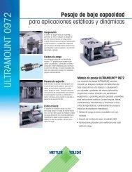 Ultramount: Para aplicaciones estáticas y dinámicas.