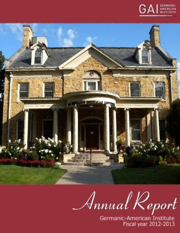 Download our Annual Report for the 2012-2013 Fiscal Year (PDF)