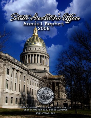 2006 Annual Report - West Virginia State Auditor's Office