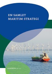 En samlet maritim strategi, 2010 - Søfartsstyrelsen