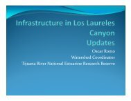 Oscar Romo Watershed Coordinator Tijuana River National ...
