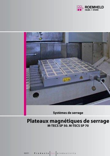 Plateaux magnétiques de serrage - Hilma-Römheld GmbH
