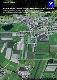 Siedlungsleitbild vom 14. April 2009 - Gemeinde Egolzwil