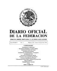 DIARIO OFICIAL DE LA FEDERACION - Suprema Corte de Justicia ...