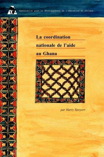 La coordination nationale de l'aide au Ghana - ADEA