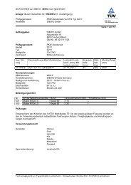 GUTACHTEN zur ABE Nr.  48913 nach §22 StVZO Anlage 14 zum ...