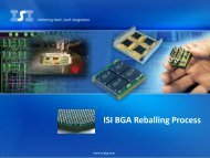 ISI Reballing.PDF - Interconnect Systems, Inc.