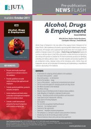Alcohol, Drugs and Employment Newsflash.indd