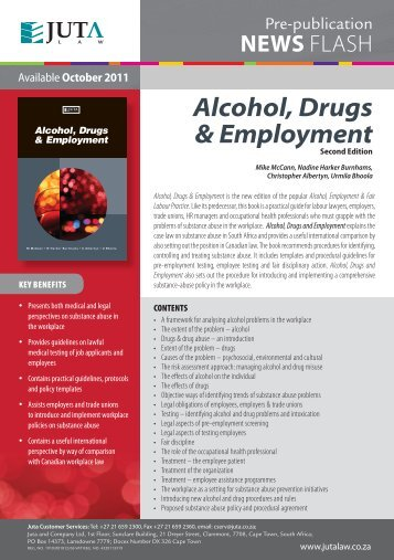 alcohol drugs and employment newsflashindd
