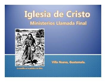 Importancia de los discipulos.pdf - IGLESIA DE CRISTO - Ministerios ...
