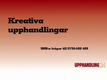 Kreativa upphandlingar - IDG