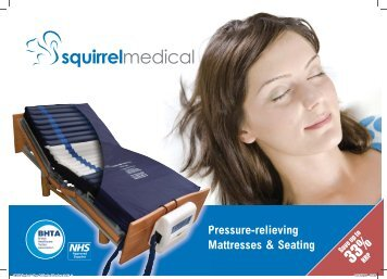 Pressure-relieving Mattresses & Seating