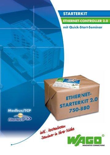 ETHERNET Starterkit 750-880 - Wago