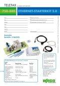 ETHERNET Starterkit 750-880 - Wago - Seite 2