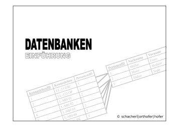 Datenbank Grundlagen Folien [PDF | 399KB]