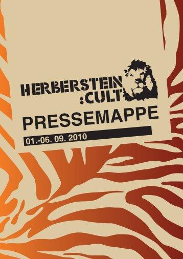 Herberstein:Cult 2010 | Pressemappe (.pdf, 5MB) - Tierwelt  ...