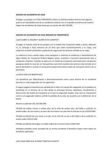 Más información - Diners Club del Ecuador