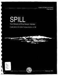 Spill – The Wreck of the Exxon Valdez [pdf - NOAA
