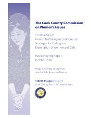 The Realities of Human Trafficking in Cook County
