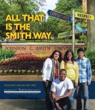 Download president-report-2011-2012.pdf - Johnson C. Smith ...