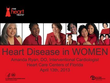Heart Disease in WOMEN - Fomadistrict2.com
