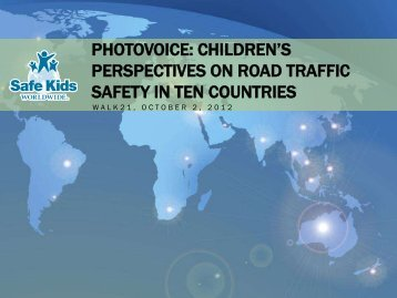 photovoice: children's perspectives on road traffic safety in ... - Walk21