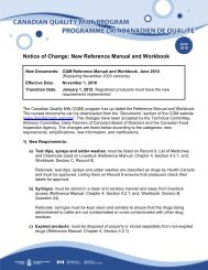 Notice of Change: New Reference Manual and Workbook