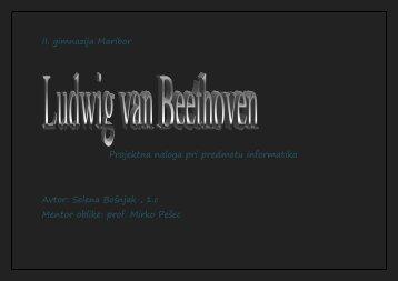 Ludwig van Beethoven - II. gimnazija Maribor