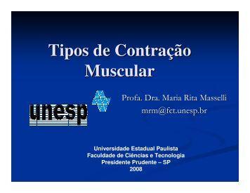 Trabalho Muscular Excêntrico - UNESP