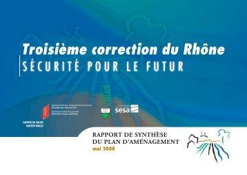rapport de synthèse du Plan d'aménagement - Telechargement.vd ...