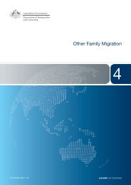 Other Family Migration - Booklet 4 - Department of Immigration ...
