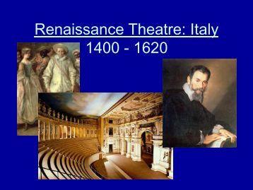 Theatre 100: Intro to Theatre