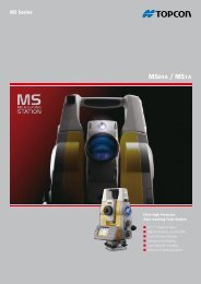 MS05A / MS1A - Topcon Positioning