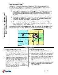 Washtenaw County Survey - Local in Ann Arbor