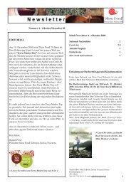 Nummer 4 - Oktober 2009 - Slow Food Schweiz