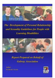 The Development of Personal Relationship and Sexuality ...