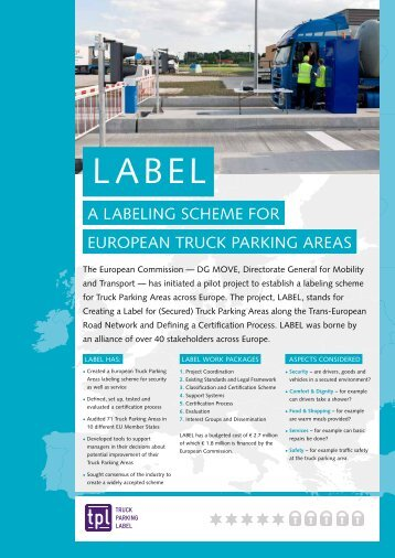 LABEL fact sheet