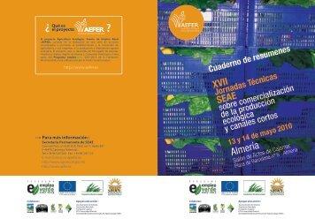 Almería - Sociedad Española de Agricultura Ecológica