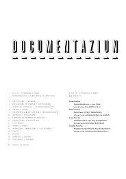 Dokumentation Litteratura 05 - studer simeon bettler GmbH