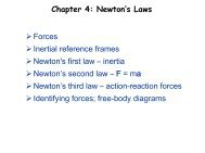 Forces Inertial reference frames Newton's first law