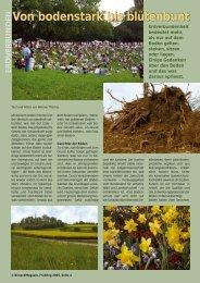 Von bodenstark bis blütenbunt - Birseck Magazin