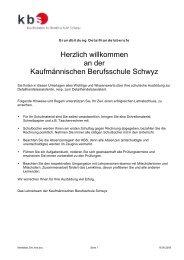 Merkblatt für Detailhandelsassistenten - Kaufmännische ...