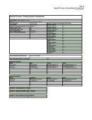 Special Process: Coating System Assessment - Dekalb Metal ...