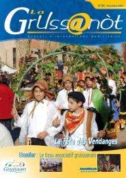 Lo Grussanòt Novembre 2007 PDF - Gruissan