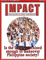 October 2010 - IMPACT Magazine Online!