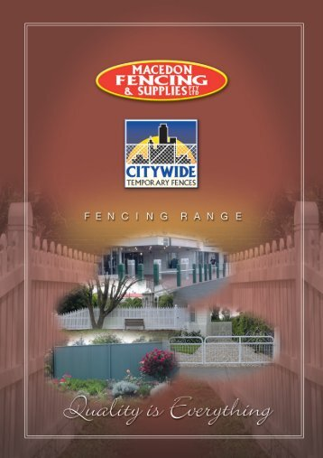 Download Macedon Fencing Brochure - Mekel