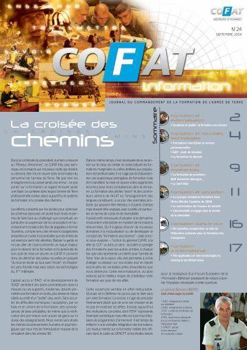 COFAT Info N°24 - Formation et Ecoles de l'armée de terre